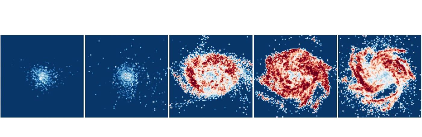Del polvo, venimos… Estudio de la evolución del polvo galáctico