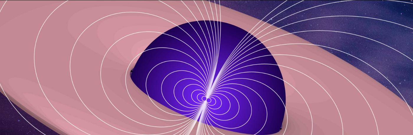 Estudio de los campos magnéticos generados por los agujeros negros primordiales